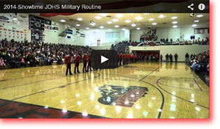 2014 Showtime Military Routine