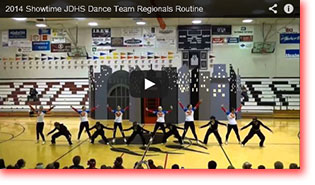 2014 Showtime Regionals Routine