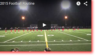 2015-16 JDHS Dance Team Football Routine